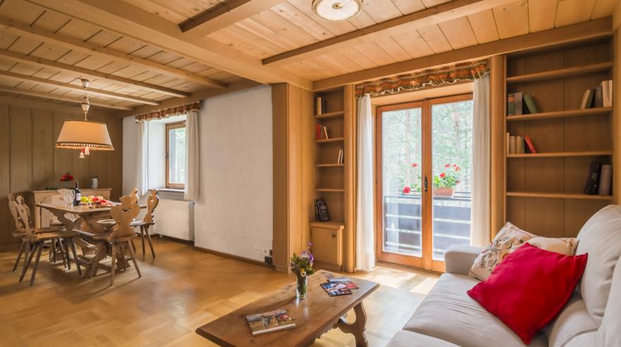 San Cassiano U2013 Residence Pinais**, Two Room Apartment 3P3